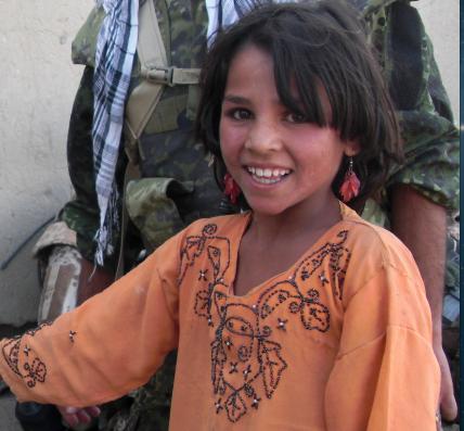 Pige fra Spin Masjed i Afghanistan