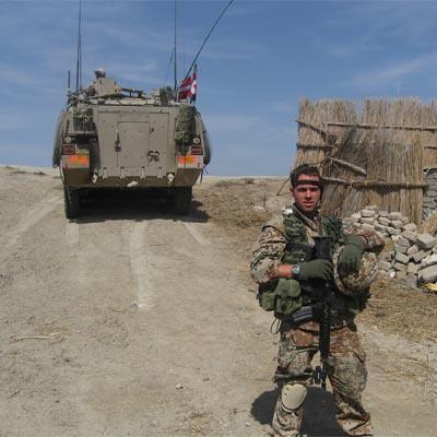 Dansk soldat i Medina, Irak. Etiske overvejelser og etiske dilemmaer er en del af hverdagen som kampsoldat