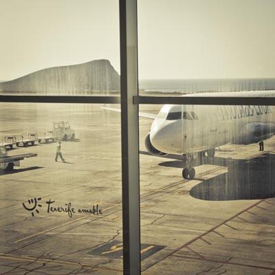 Feriebillede fra Tenerife. Her skete verdens største flyulykke i 1977